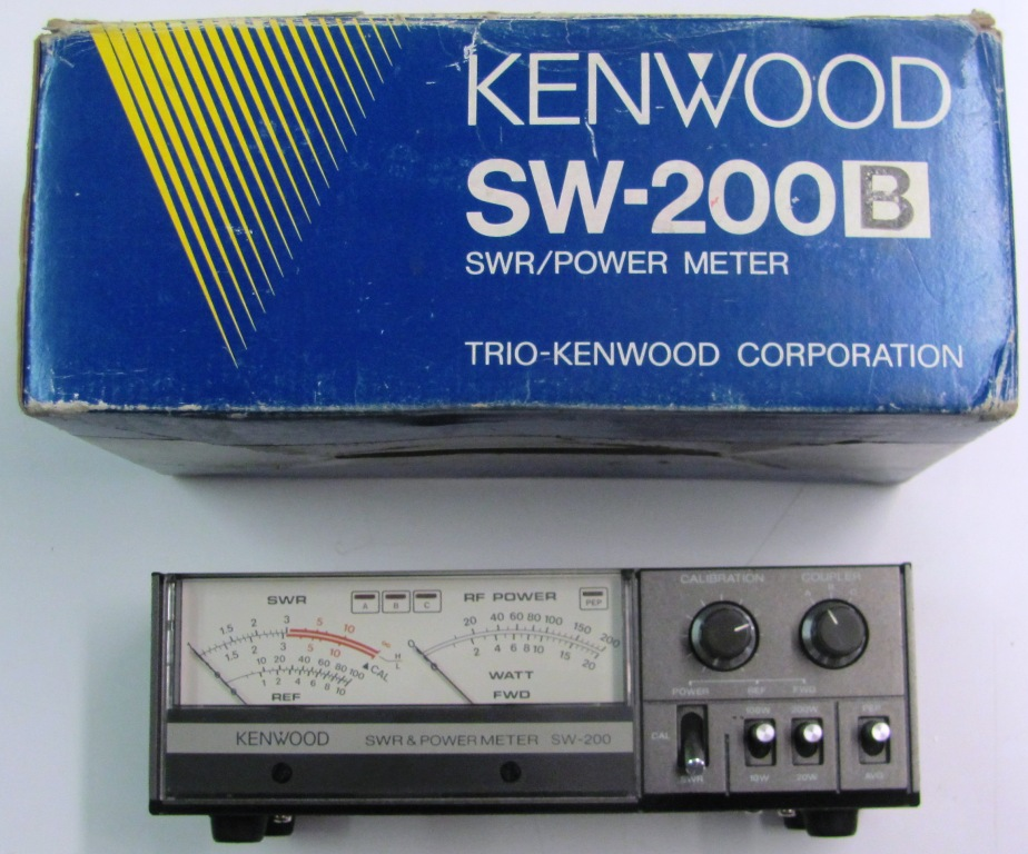 Kenwood SWR/Power-Meter SW-200 mit Tastkopf SWC-2 (140-450 MHz)
