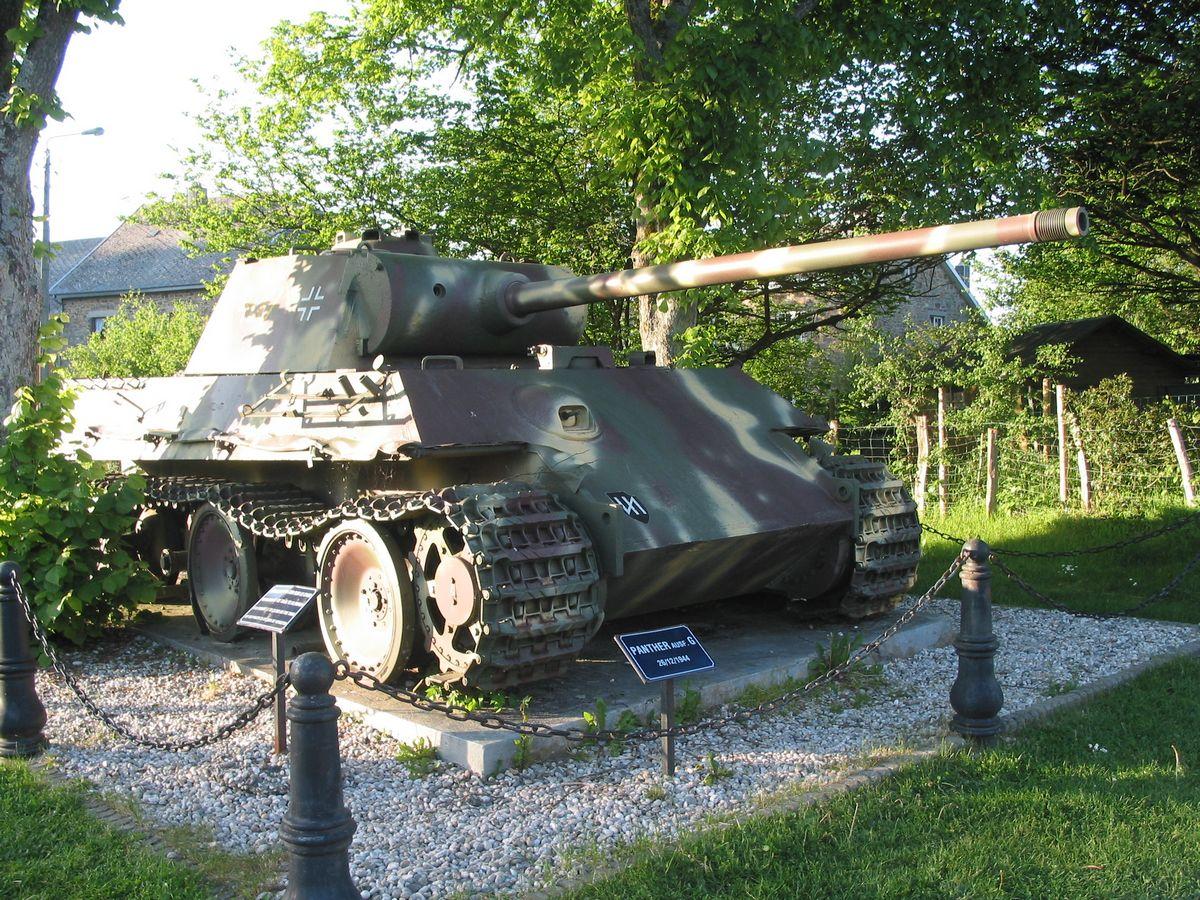 Altitude 445   Ontdek de streek   De gemeente   Een Duitse tank