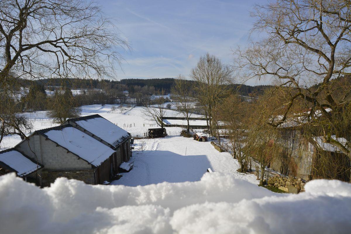 Altitude 445 - Sous la neige