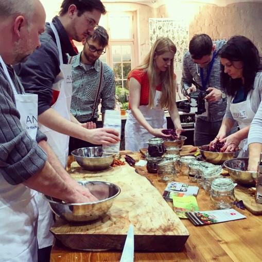 Workshop: Fermentieren mit Slow Food bei der Haus, Garten Freizeit Messe