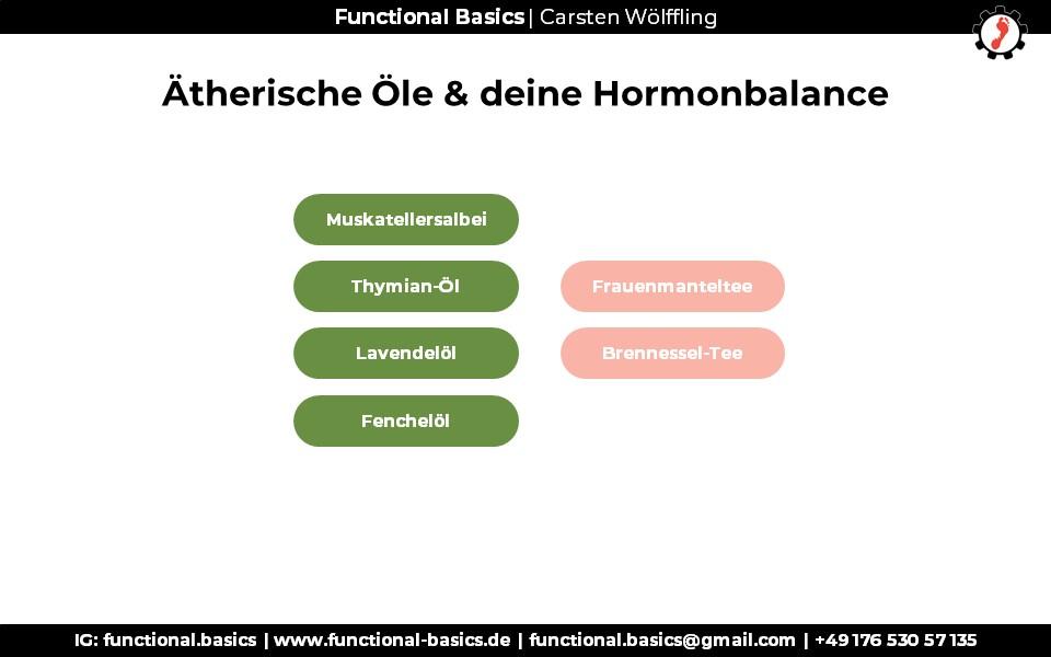Hormone ausbalancieren mit Düften