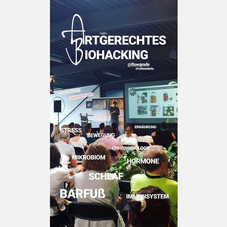 Vortrag beim FlowFest 2017: Artgerecht Leben