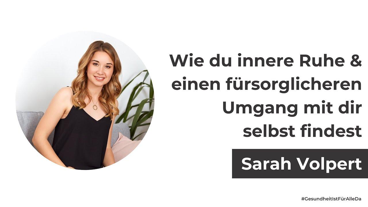 Sarah Volpert von der Seelenkonferenz