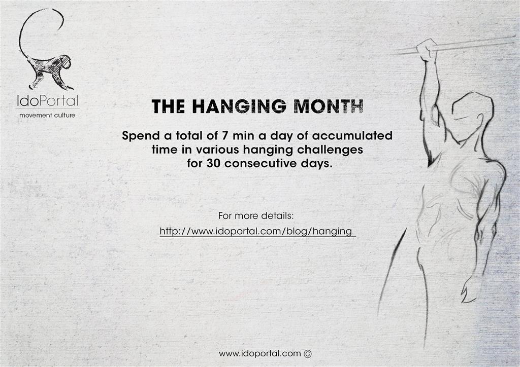 Ido Portal Hanging Month