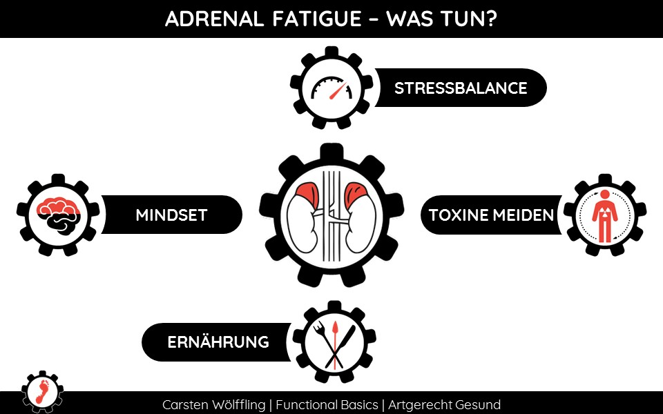 Adrenal Fatigue Heilen