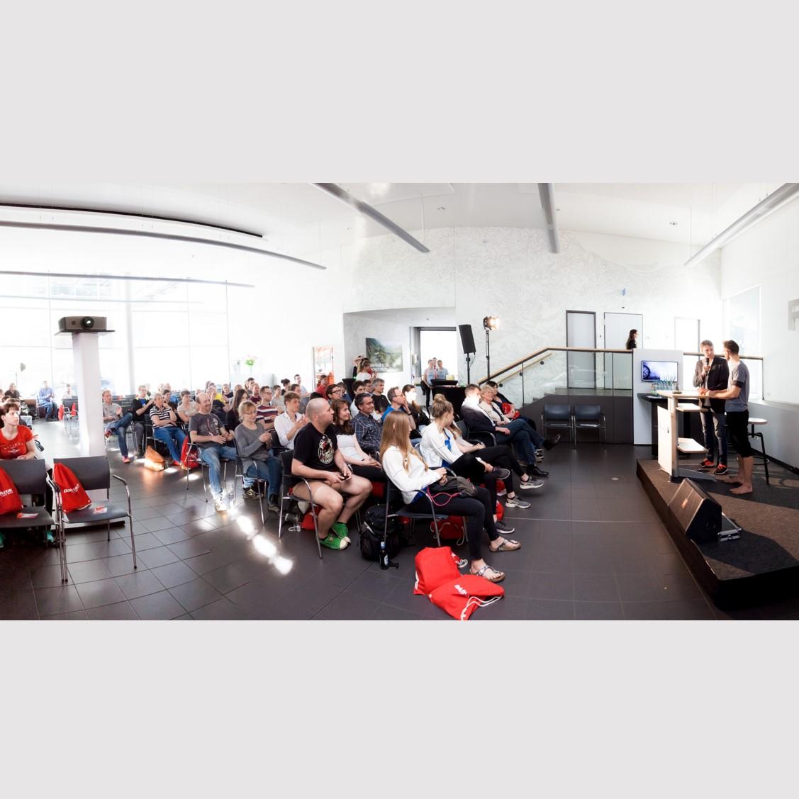 Vortrag: Darmgesundheit beim BMW Ausdauersymposium 2017