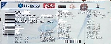 Biglietti Partite Serie A Ssc Napoli Benvenuti Su Clubnapolisulmonavallepeligna