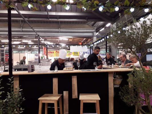Décoration restaurant Foire de Montpellier - Décor Zé Âme