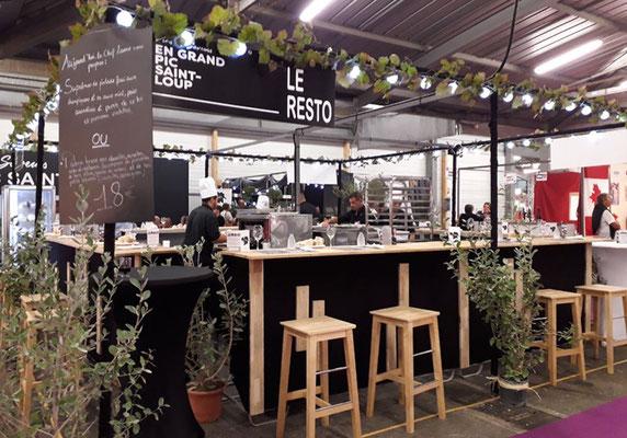 Déco restaurant Foire Montpellier - Décor Zé Âme