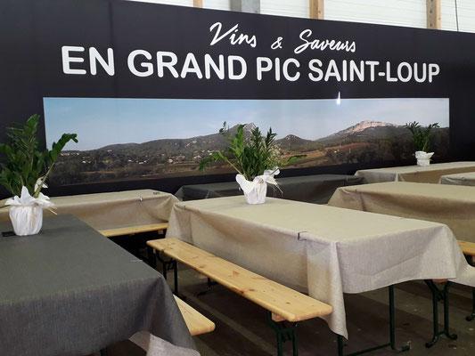 Espace repas Foire de Montpellier Office de Tourisme du GPSL