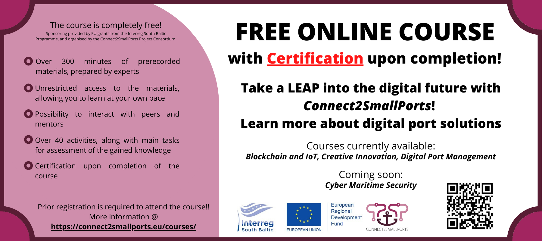 Free online course with certification
