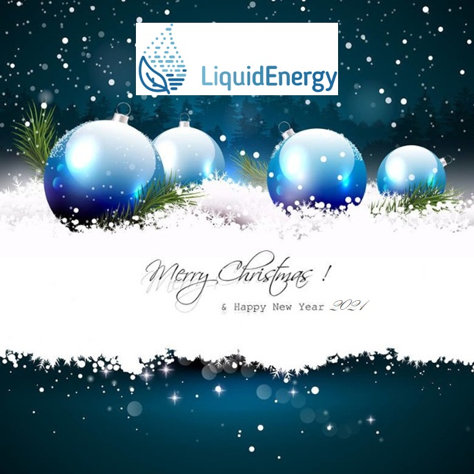 Liquid energy project sends Christmas greetings to everyone!