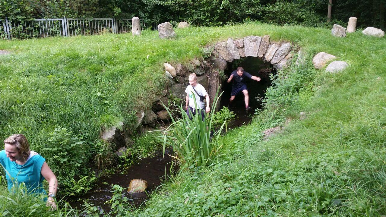 Durch die Wassertunnel