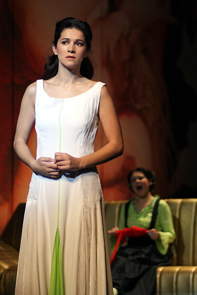 The Rape of Lucretia, Mezzo Tv