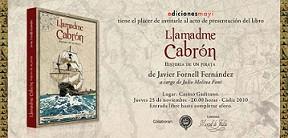 Libro sobre el pirata gaditano Pedro Cabrón, escrito por Javier Fornell