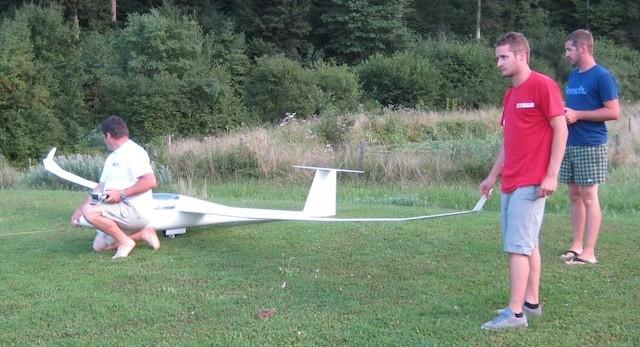 Start Schleppflug...Fertiges Modell (noch ohne Kennung-/Dekor!)