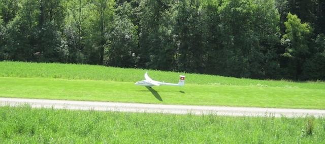 ...Landung :-))