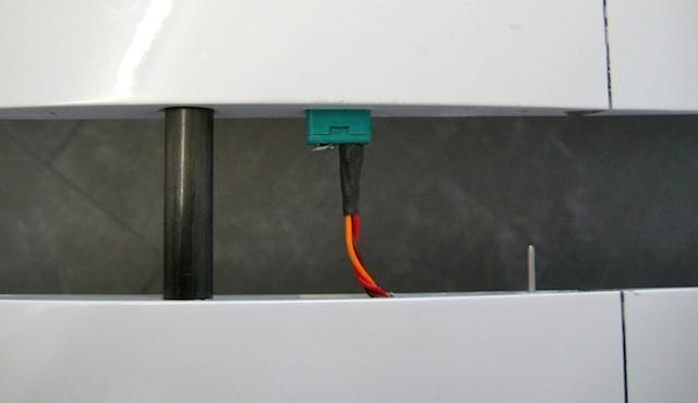 RC-Verbinding Tragflächenmittelteil-/Aussenflügel