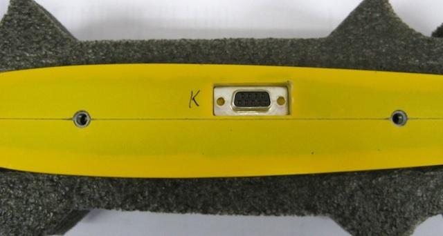RC-Sub-D Stecker bei Tragflächenaufnahme