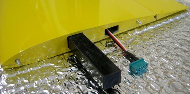 RC-Stecker Aussentragfläche (MPX)