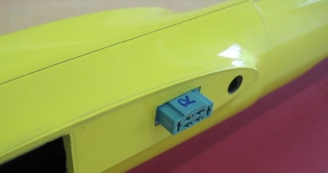 RC-Stecker Rumpf (MPX)