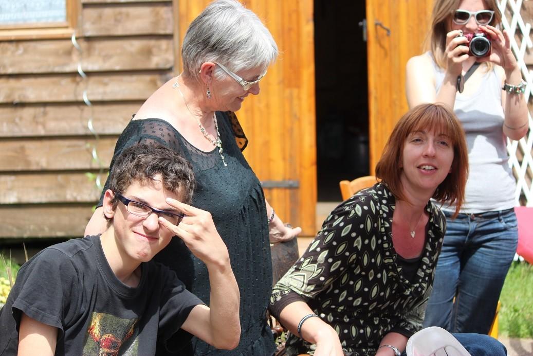 Clément, Elisabeth et Angélique
