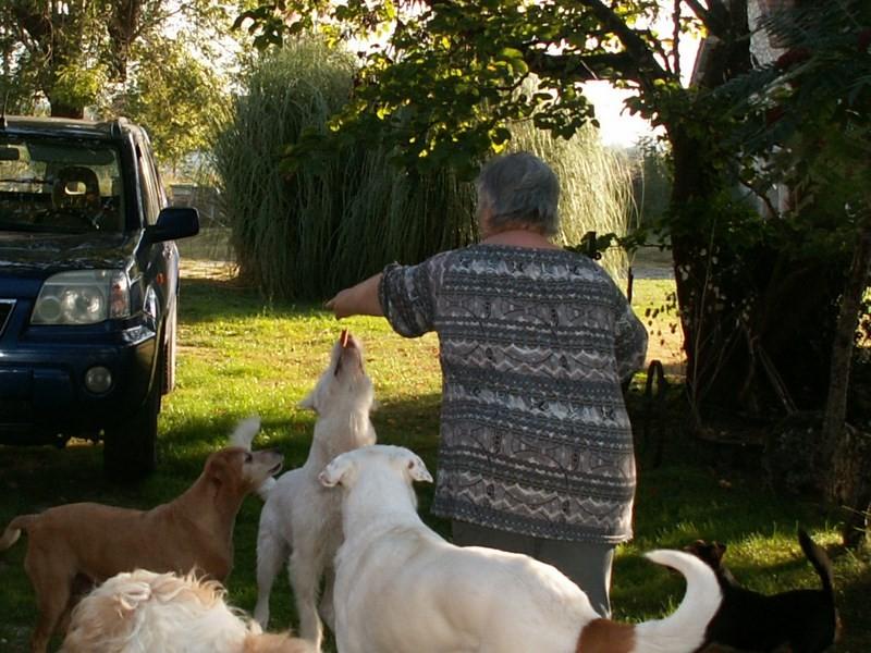 Gwendal en visite à Mazarin - Septembre 2014