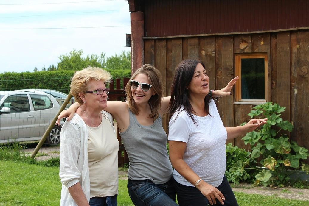 Mercedes, Maria et Puri