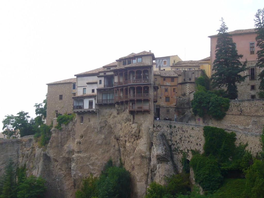 Les maisons suspendues, typique de Cuenca