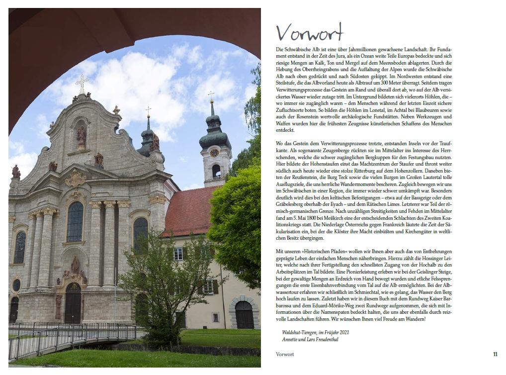 Historische Pfade Schwäbische Alb - Vorwort