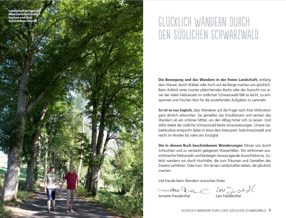 Wandern Dich glücklich südlicher Schwarzwald | Einleitung