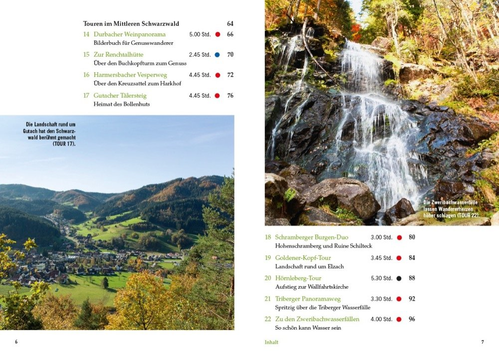 Genusswandern im Schwarzwald - Inhalt 2