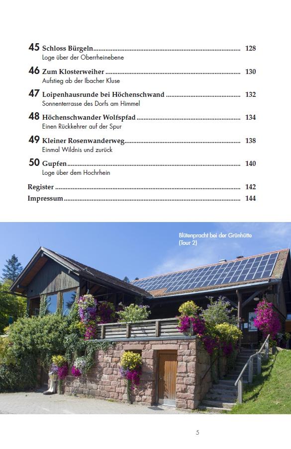 Leichte Wanderungen Schwarzwald - Inhalt 4