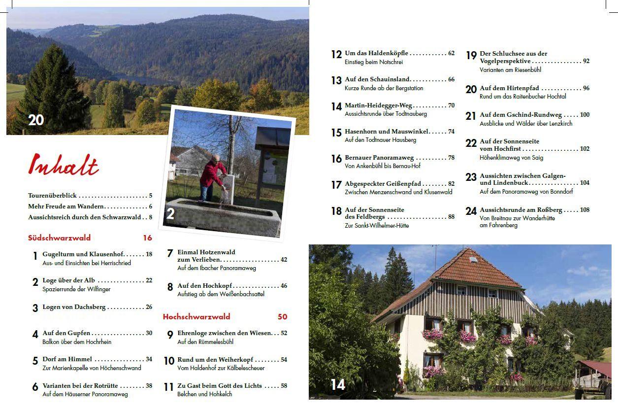 Panoramawege für Senioren Südschwarzwald - Inhalt