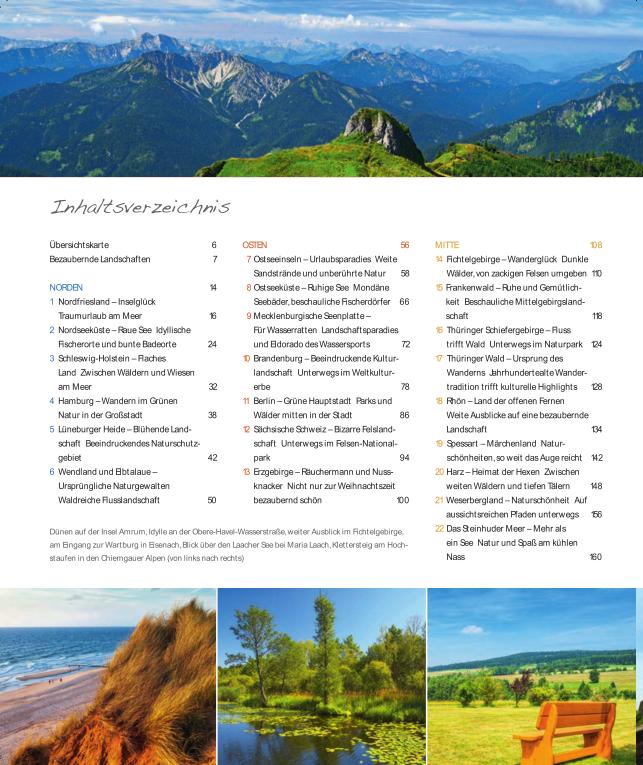 Wanderparadies Deutschland - Inhalt 1