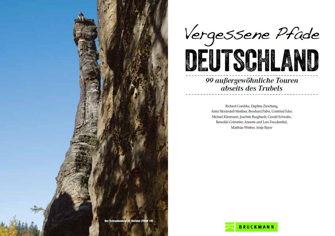 Wanderführer Vergessene Pfade Deutschland
