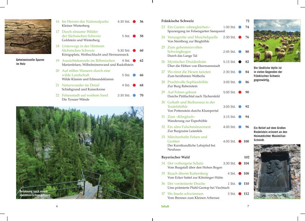 Mystische Pfade Deutschland - Fränkische Schweiz und Bayrischer Wald