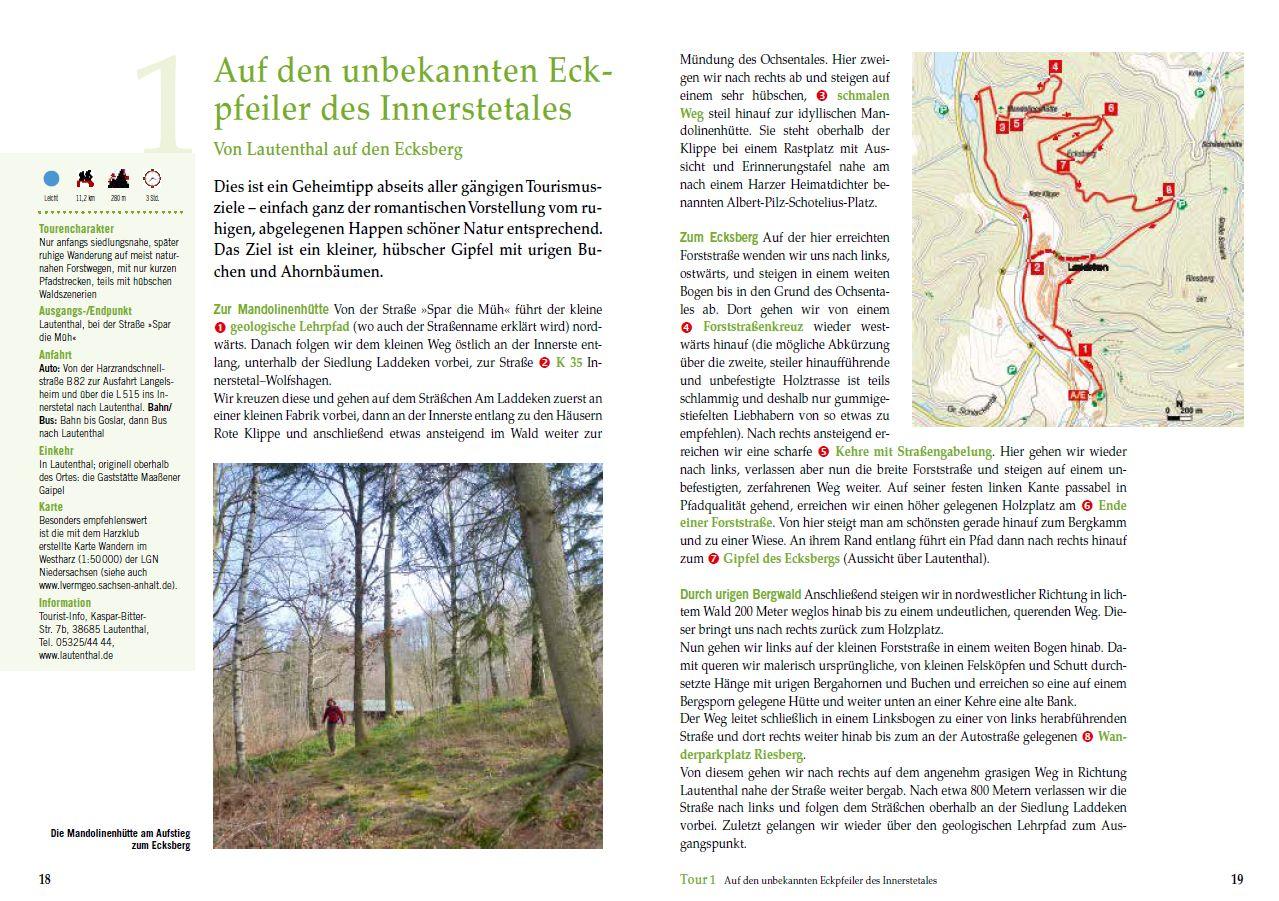 Beispielwanderung im Harz