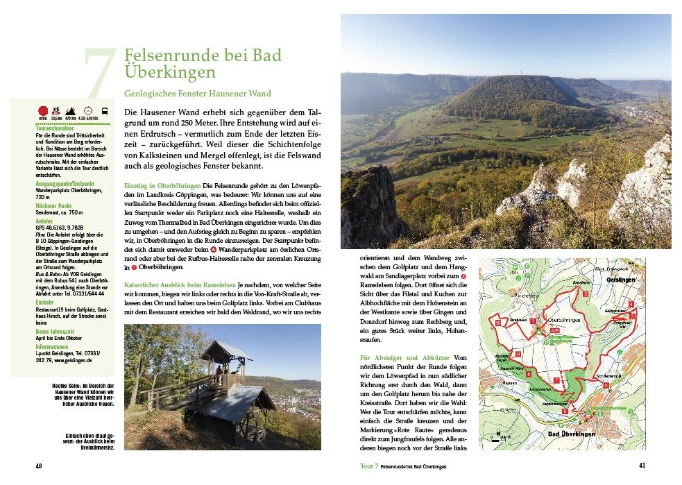Felsenrunde bei Bad Überkingen