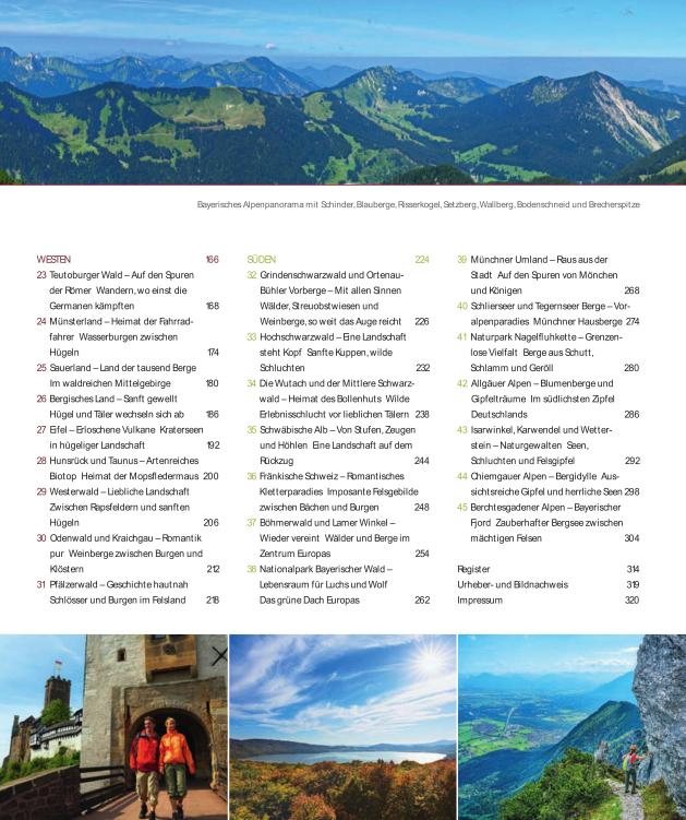 Wanderparadies Deutschland - Inhalt 2