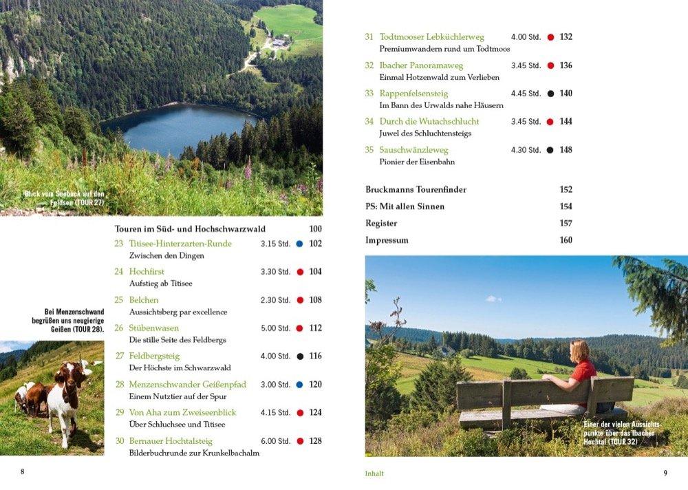 Genusswandern im Schwarzwald - Inhalt 3