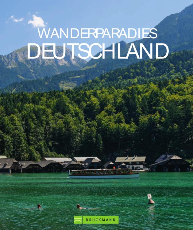Wanderführer Wanderparadies Deutschland