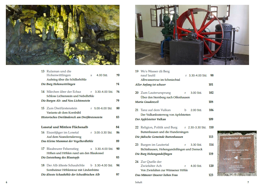 Historische Pfade Schwäbische Alb - Inhalt 2