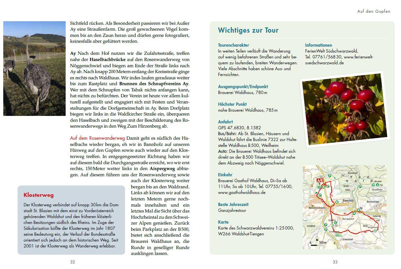 Panoramawege für Senioren Südschwarzwald - Textbeispiel 2