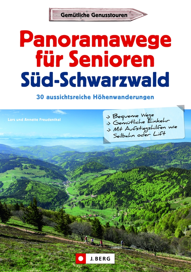Cover der Panoramawege für Senioren im Südschwarzwald
