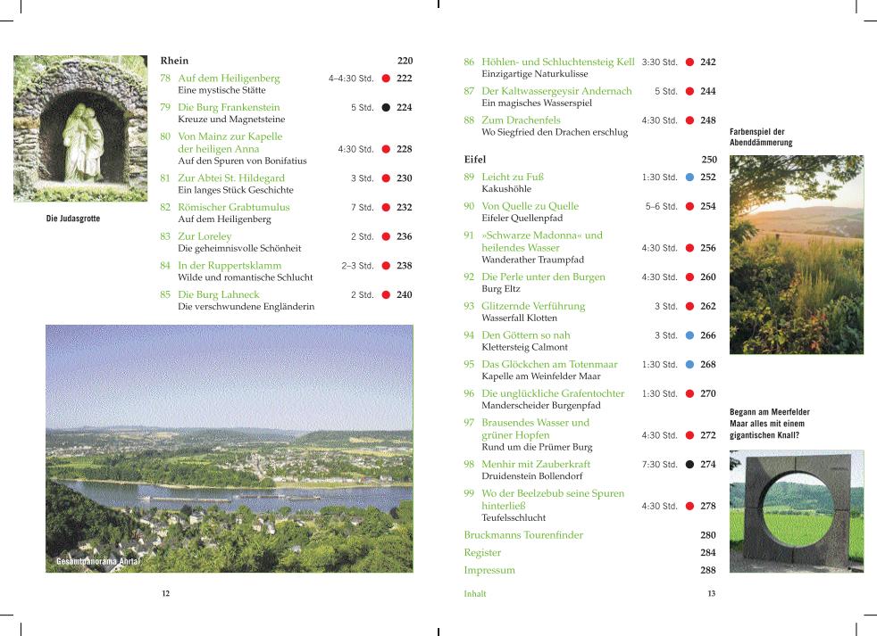 Mystische Pfade Deutschland - Rhein und Eifel