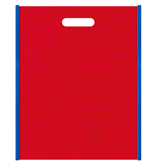不織布小判抜き袋 本体不織布カラーNo.35 バイアス不織布カラーNo.22