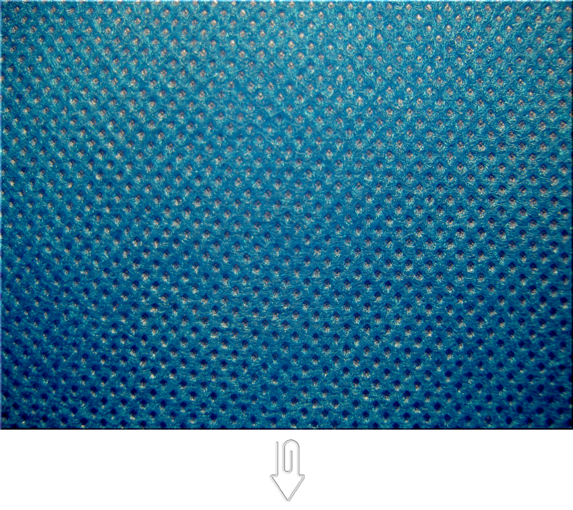 青色の不織布バッグ制作用生地カラー:不織布No.28