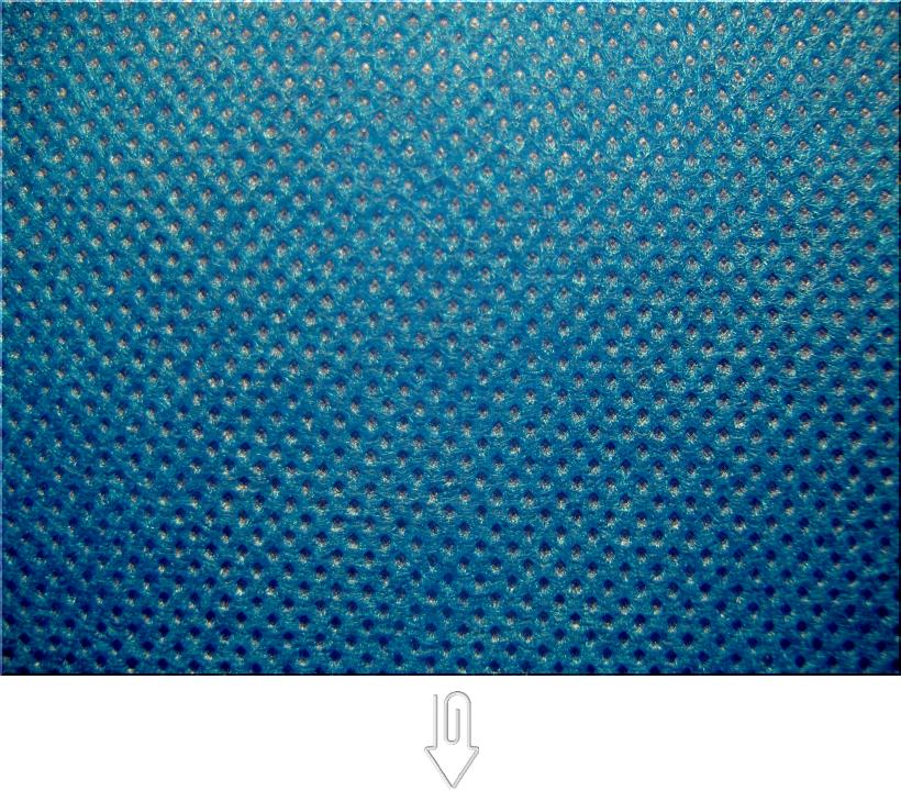 青色の不織布