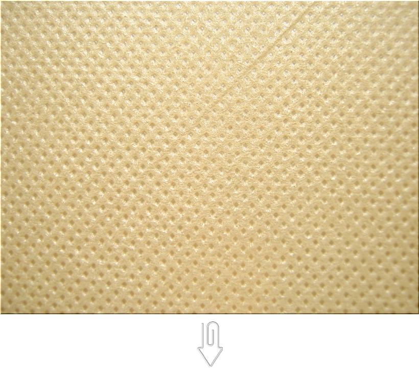 カーキ色の不織布バッグ制作用生地カラー:不織布No.21
